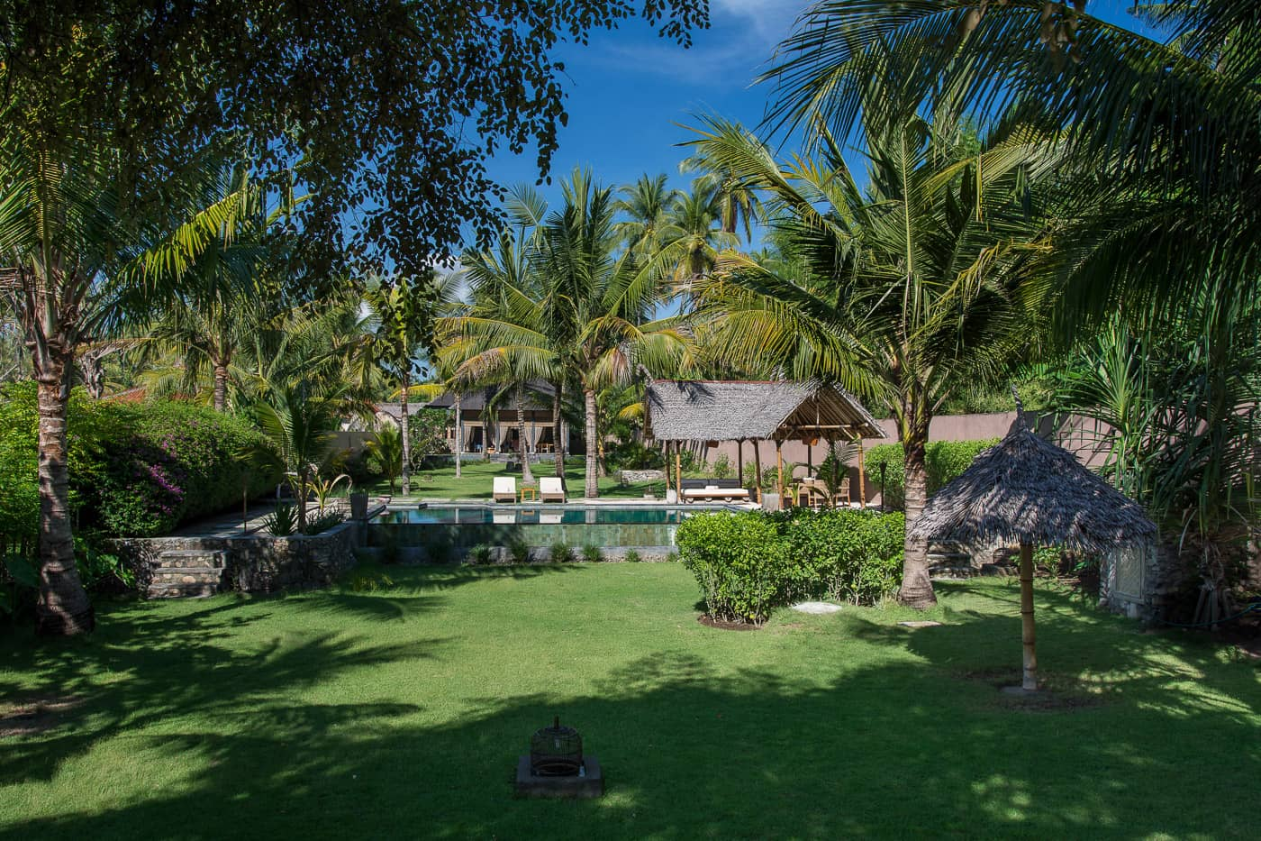 exterior entrance image of The Beach Villa Lombok