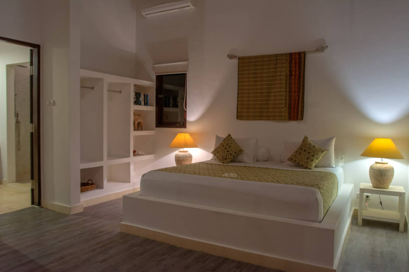 guest bedroom image of The Beach Villa Lombok